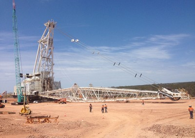 Dragline, Dragline maintenance, shutdown, maintenance, Richglen